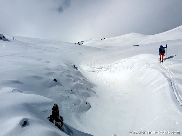 winter ski touring fagaras 600