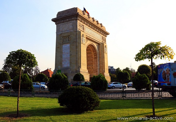 arc de triumf bucharest 600